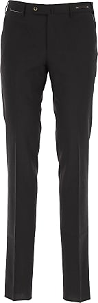PT01 Pants for Men On Sale, Black, Wool, 2017, 32 34 36 38 40