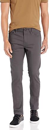 Volcom mensA1131701Volcom Mens Vorta 5 Pocket Slub Slim Fit Pant Transitional Jacket - Multi - 32