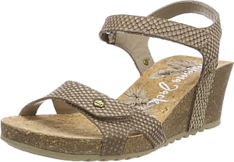 dc76d6a83ec5f4 Panama Jack Womens Julia Snake Open Toe Sandals