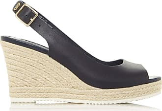 Dune London Dune Ladies Womens Knox 2 Slingback Espadrille Wedge Heel Sandals Size UK 4 Navy Wedge Heel Espadrilles