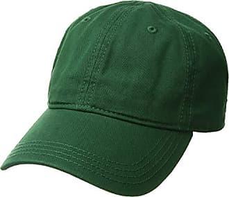 00cf4c73d92 Lacoste Mens Cotton Gabardine Cap with Signature Green Croc