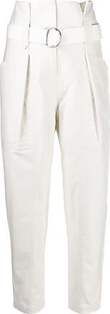 Iro paperbag waist trousers - White