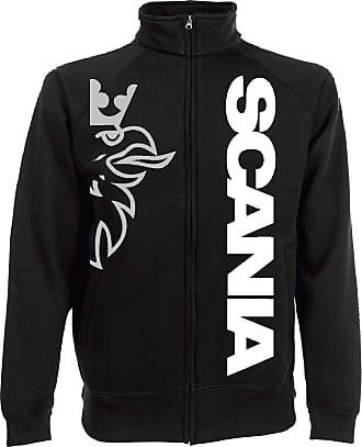 Generico Jacket Scania Vabis Truck tir lkv Holland Style Sweat Jacket - Black, XXL