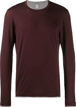 Eleventy Camiseta com sobreposição - Vermelho