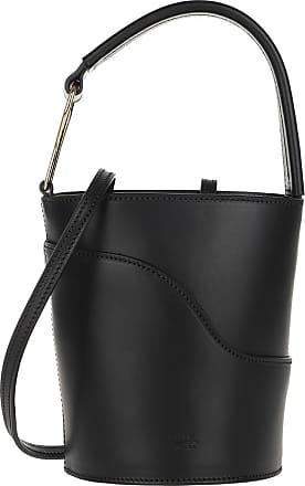 ATP Atelier Sava Bucket Bag Black Bucket Bags zwart