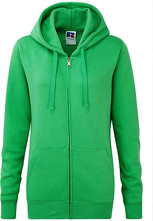 Russell Athletic Russell Ladies Premium Authentic Zipped Hoodie (3-Layer Fabric) (M) (Apple)
