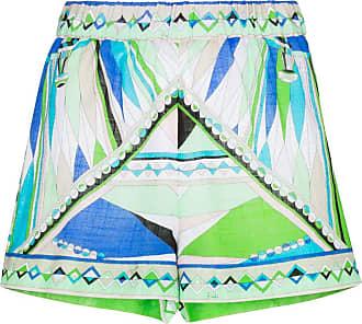 Emilio Pucci Bes print shorts - Azul