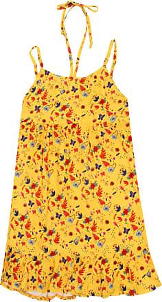 Bisi Vestido Bisi Menina Amarelo