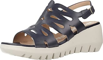 Wonders Women Sandals and Slippers Women D9003 Blue 3.5 UK