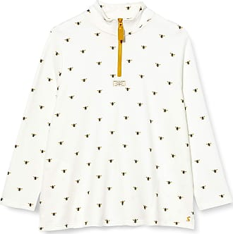 Joules Womens Pip Print Pullover Sweater, Cream Bees, 12