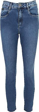 Morena Rosa Calça Jeans Morena Rosa Slim Cropped Isadora Azul