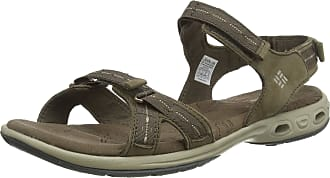 Columbia Womens KYRA VENT II Sandals, Brown (Mud/Silver Sage), 10 UK