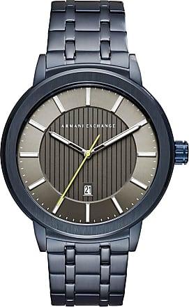 A|X Armani Exchange Relógio Quartz Couple Shot - Homem - Azul - Único IT