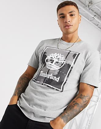 Timberland Photographic Beach t-shirt in grey