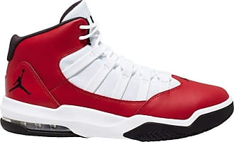 Nike Jordan Nike Mens Jordan Max Aura Basketball Shoe, 602 Gym Red/Black-White, 1.5 UK