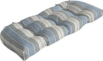 Better Homes & Gardens Hickory Stripe Outdoor Wicker Settee Cushion - TJ0X536B-D9W1