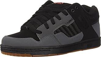 4a068b292737e DVS Mens Enduro 125 Skate Shoe, Charcoal Black Nubuck, 7 Medium US