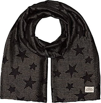Levi s Lurex Stars Wrap, Echarpe Femme, (Noir Regular Black 59), Unique d082d3834a7
