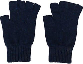 Pringle Of Scotland Par de luvas de cashmere sem dedos - Azul