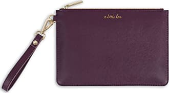 Katie Loxton Secret Message Pouch - A Little Love/Carry A Little Love With You Wherever You Go, Mulberry, One