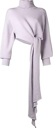 16Arlington Suéter de tricô com drapeado - Rosa