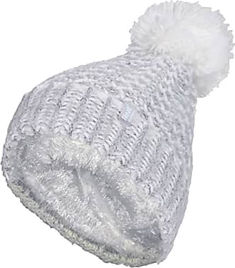 Heat Holders Ladies Nordic Knit Fleece Lined Cuffed Thermal Winter Bobble Hat with Pom Pom (One Size, Light Grey (Lund))