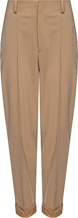 Undercover Pleat-front Trousers Womens Beige