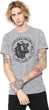 Hawaiian Dreams Camiseta HD Animal Cinza