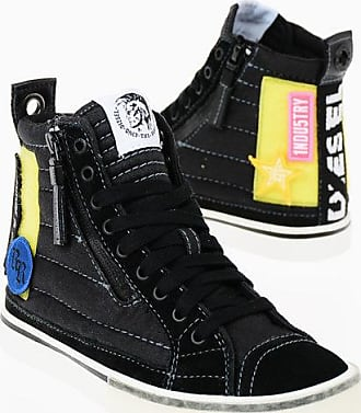 Diesel Leather Details D-VELOWS D-VELOWS MID PATCH W Sneaker Mid size 36