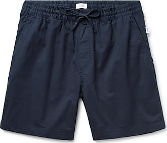 Onia Aiden Slim-fit Cotton-twill Drawstring Shorts - Navy