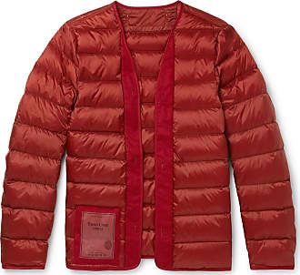 Ten c Quilted Nylon Down Liner - Red
