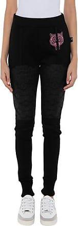 Pantalones Negro De Plein Sport Para Mujer Stylight