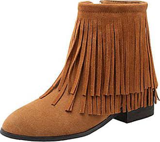 7e2eed1dc aiyoumei flache boots mit mit reißverschluss