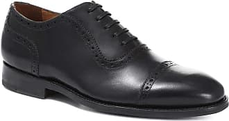 Jones Bootmaker Goodyear Welted Leather Oxford Brogue Black