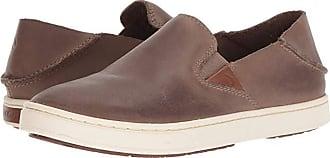Olukai Pehuea Leather (Espresso) Womens Shoes
