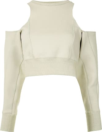 Ground-Zero Suéter com recorte vazado nos ombros - Neutro