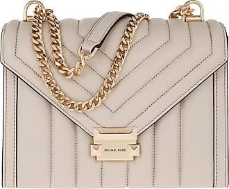 Michael Kors Cross Body Bags - Whitney LG Shoulder Bag Light Sand - beige - Cross Body Bags for ladies