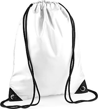 BagBase Bagbase Unisex Adults Premium Gymsac Bag White One Size
