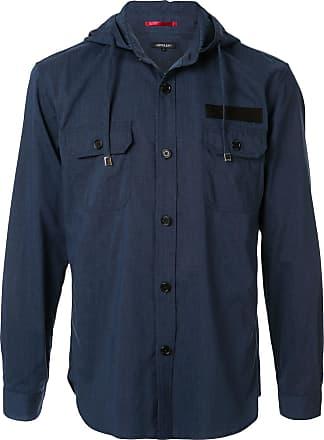Loveless Camisa com capuz - Azul