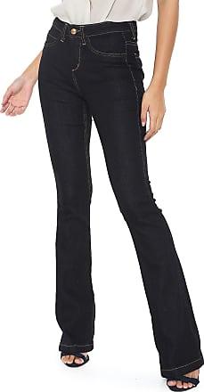 Iodice Calça Jeans Iódice Bootcut Donna Azul