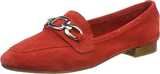 Marco Tozzi Womens 2-2-24226-22 Loafers, Red (Red 500), 6.5 UK