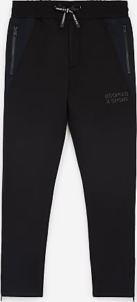 The Kooples Black joggers with navy blue details - MEN