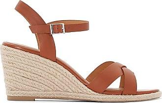 34c22cbb2541b4 Jonak Espadrilles sandales compensées - JONAK - Camel