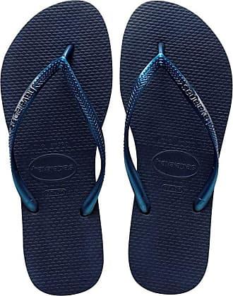 39//40 Havaianas Slim Brazil Women/'s Flip Flops Sand Grey UK 5 EUR
