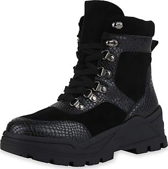 Scarpe Vita Women Bootee Platform Boots Lightly Lined Prints Platform Front 186590 Black Snake UK 7 EU 41