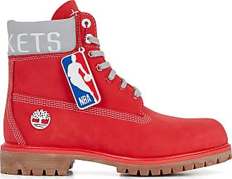 d658efdacb19d8 Timberland 6 INCH NBA ROCKETS TIMBERLAND ROUGE/GRIS 41 HOMME TIMBERLAND  ROUGE/GRIS 41