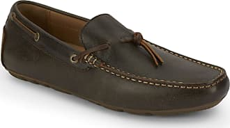 Lucky Brand Mens Warley Driving Style Loafer, Dark Brown, 10.5 medium US
