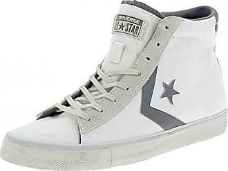 0dd2116f7fa47a Converse Converse Pro Leather Vulc Distressed Scarpe Uomo Bianche - Weiss