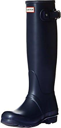 Hunter Original Tall, Bottes de Pluie femme, Bleu (Navy), 42 EU 8fe88ec8d3b1