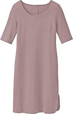 Enna Jerseykleid, 3/4-Arm aus Bio-Baumwolle, malve